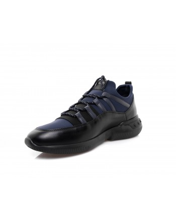TOD'S - Leather sneaker - Black