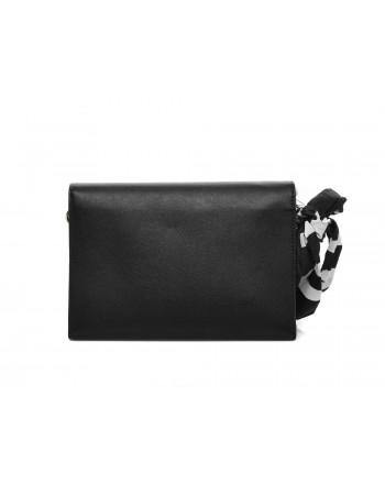 LOVE MOSCHINO - Wrist bag with bow - Black