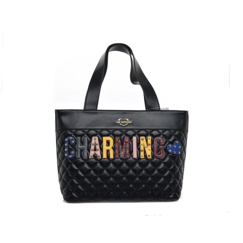 Women Bags Love Moschino Handbag nero,moschino jacket
