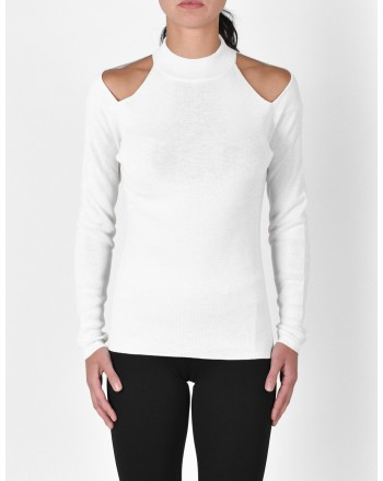 MICHAEL di MICHAEL KORS - Turtleneck knit - Bone