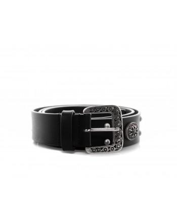 PINKO - Cintura NINFEA con gioiello - Nero