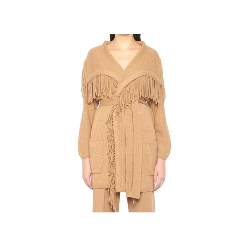 MAX MARA - MELINDA wool cardigan - camel
