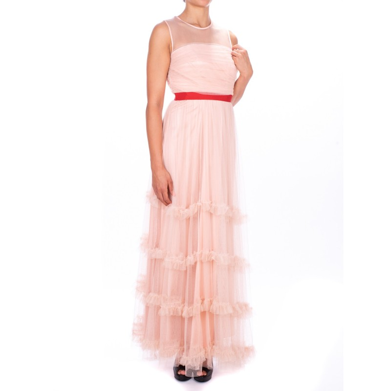 finest selection 8e97a bb5ea PINKO -SEZIONI dress in Tulle - Pink