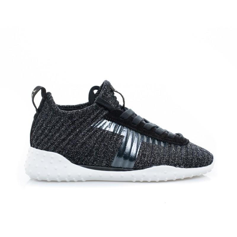 TOD'S - Sneaker in tessuto - Nero