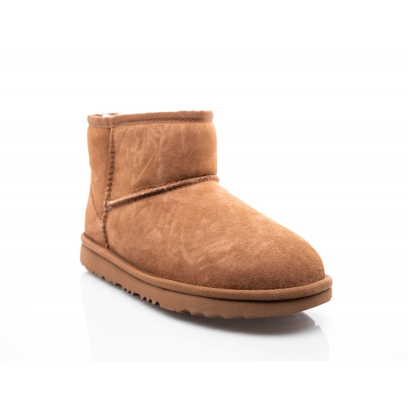 UGG KIDS -  Mini Classic Kids boots - Chestnut