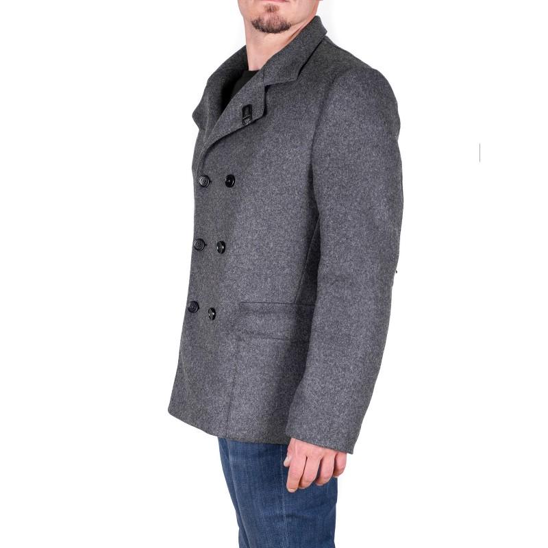 FAY - Wool peacoat - Grey