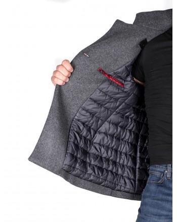 FAY - Cappotto in lana corto - Grigio