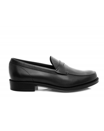 TOD'S - Leather Moccasin - Black