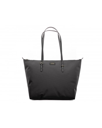 POLO RALPH LAUREN - Oxford Shopping Tote Bag - Black