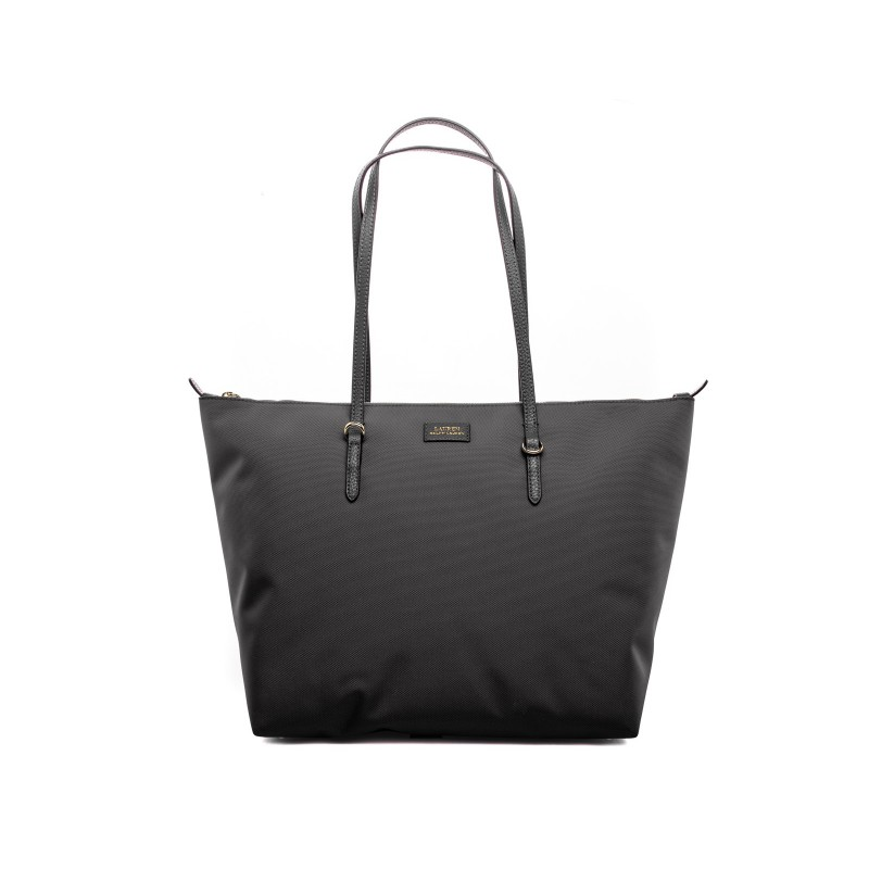 POLO RALPH LAUREN - Borsa Shopping Tote Oxford - Nero