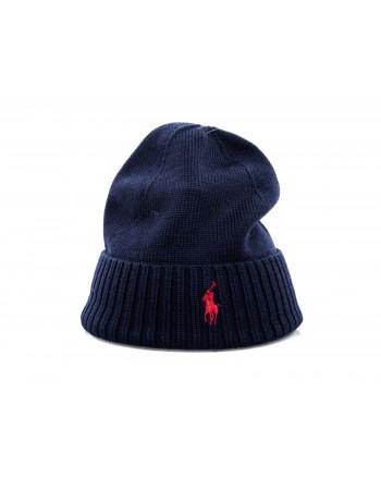 POLO RALPH LAUREN - Cappello in lana - Hunter Navy