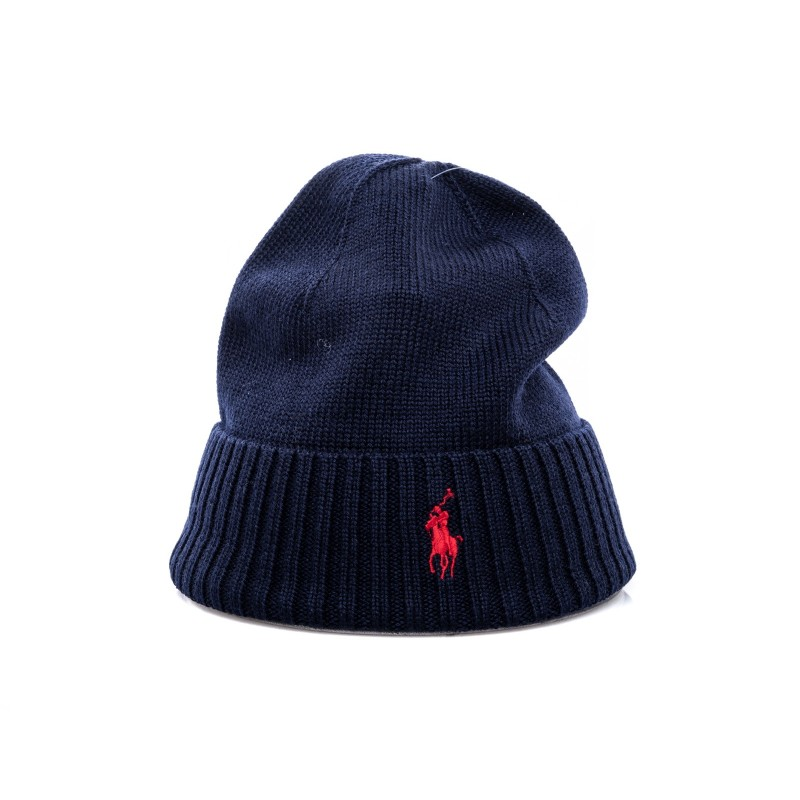 POLO RALPH LAUREN - Cappello in lana - Hunter Navy