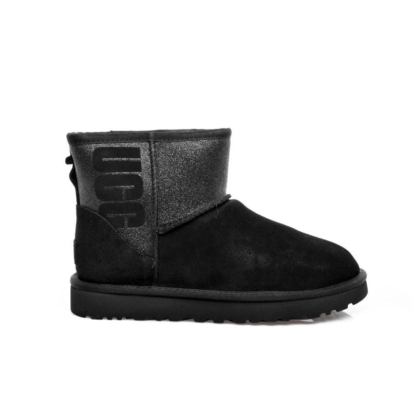 UGG - Classic Boots MINI SPARKLE - Black