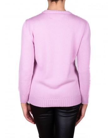 ALBERTA FERRETTI - ALITALIA sweater in wool - Pink
