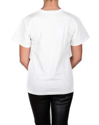 ALBERTA FERRETTI -  Cotton jersey T-shirt with SUNDAY logo - White