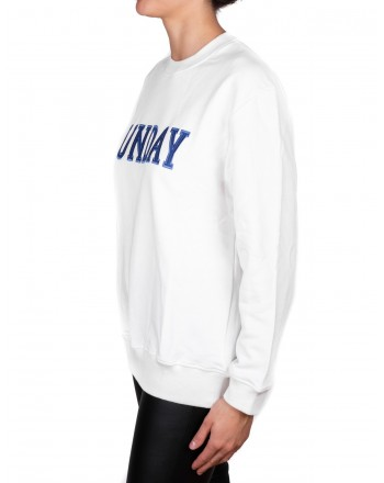 ALBERTA FERRETTI - SUNDAY Cotton Sweatshirt - Off White