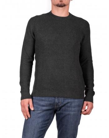 MICHAEL di MICHAEL KORS - Maglia in cotone e lana Merino - Ash Melange Moulinex