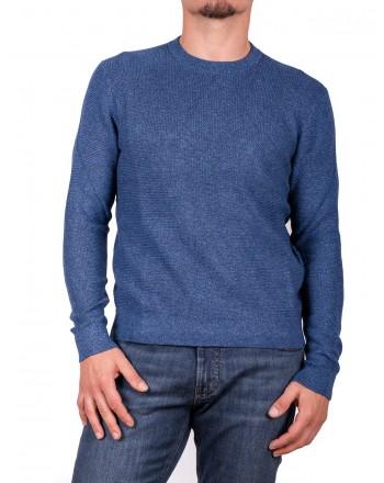 MICHAEL di MICHAEL KORS - Maglia in cotone e lana Merino - Ocean Blue Moulinex