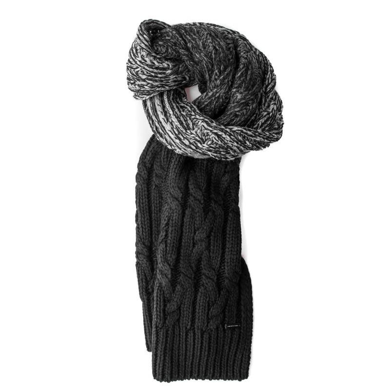 MICHAEL di MICHAEL KORS - Thermal Tech Fabric Scarf - Black