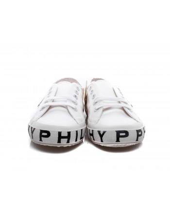 PHILOSOPHY di LORENZO SERAFINI - Sneakers SUPERGA x PHILOSOPHY con Suola Logata - Bianco