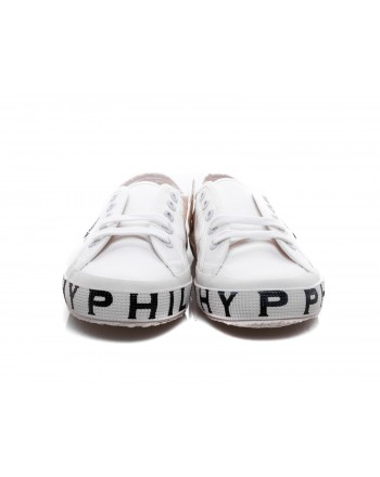 PHILOSOPHY di LORENZO SERAFINI - SUPERGA x PHILOSOPHY Sneakers with Logo Sole - White