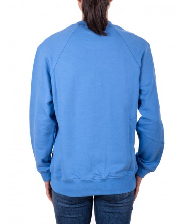 ALBERTA FERRETTI - MONDAY Cotton Sweatshirt - Light Blue