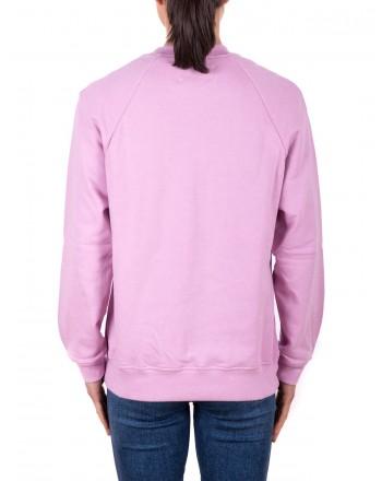 ALBERTA FERRETTI - FRIDAY Cotton Sweatshirt  - Lilac