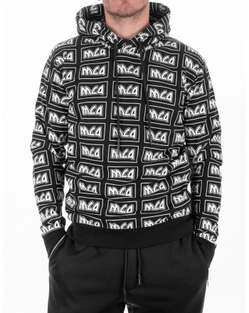 MCQ BY ALEXANDER MCQUEEN - Cotton Hoodie - Black
