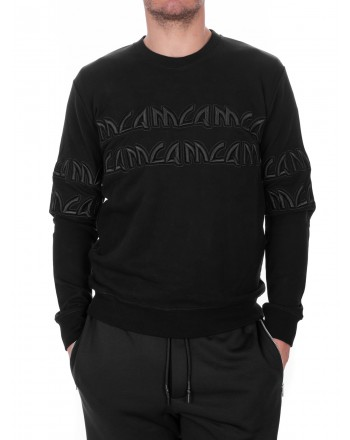 MCQ BY ALEXANDER MCQUEEN - Cotton round neck jersey - Black