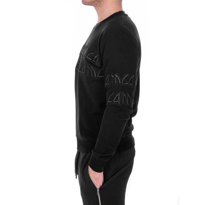 MCQ BY ALEXANDER MCQUEEN - Cotton round neck jersey - Black