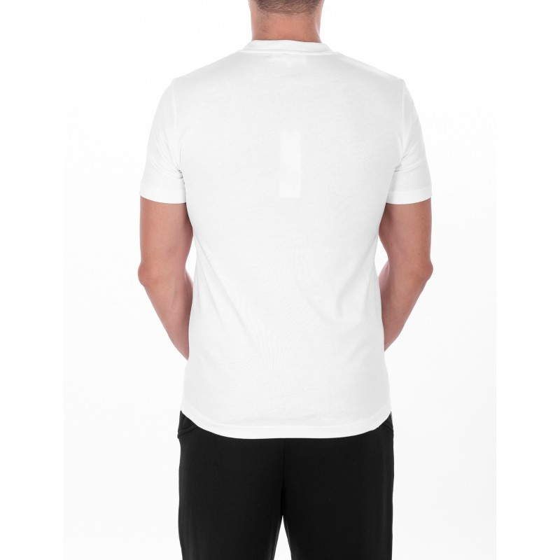 MCQ BY ALEXANDER MCQUEEN - Cotton T-Shirt with Metal style Logo - White