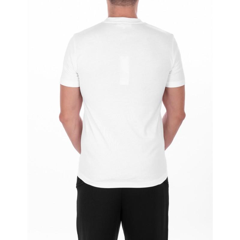 MCQ BY ALEXANDER MCQUEEN -  T-Shirt in cotone con Logo in stile Metal - Bianco