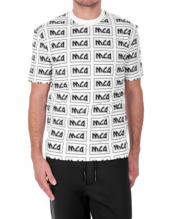 MCQ BY ALEXANDER MCQUEEN - McQ Cotton T-Shirt - White
