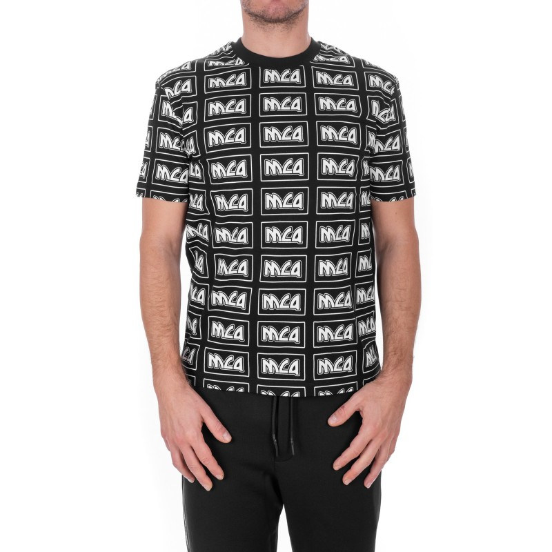 MCQ BY ALEXANDER MCQUEEN - McQ Cotton T-Shirt - Black