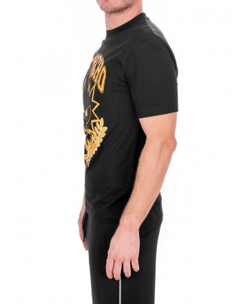 MCQ BY ALEXANDER MCQUEEN -  T-Shirt in cotone PSYCHO BILLY - Nero