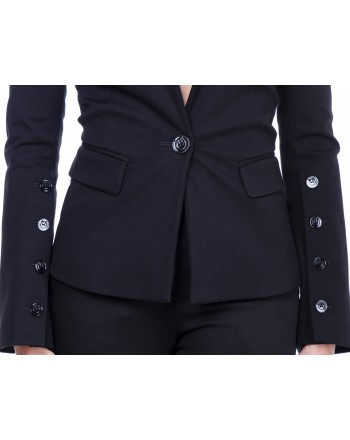 PINKO - One breasted Jacket DIALOG with maxibuttons  - Blue