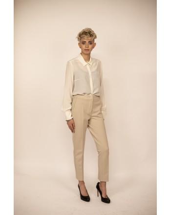 MAX MARA - Pantalone in Jersey PEGNO - Corda