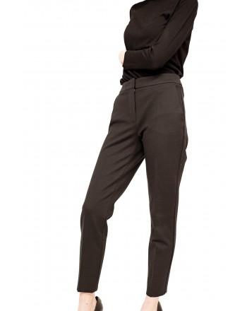 MAX MARA - Pantalone in Jersey PEGNO - Nero