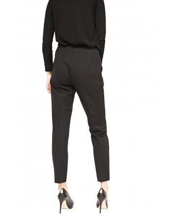 MAX MARA - Jersey Trousers PEGNO - Black