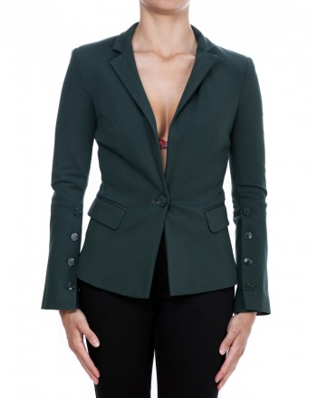 PINKO - One breasted Jacket DIALOG with maxibuttons  -Green