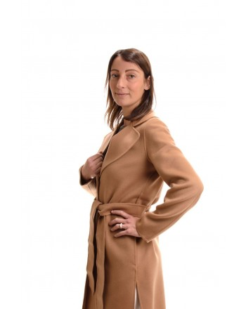 MAX MARA STUDIO - Cashmere and Camel Hair MASTER Coat - Camel