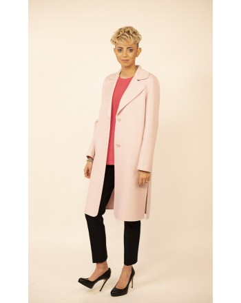MAX MARA STUDIO - Cashmere and Camel Hair MASTER Coat - Pink