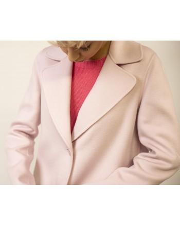 MAX MARA STUDIO - Cashmere and Camel Hair MASTER Coat - Pink