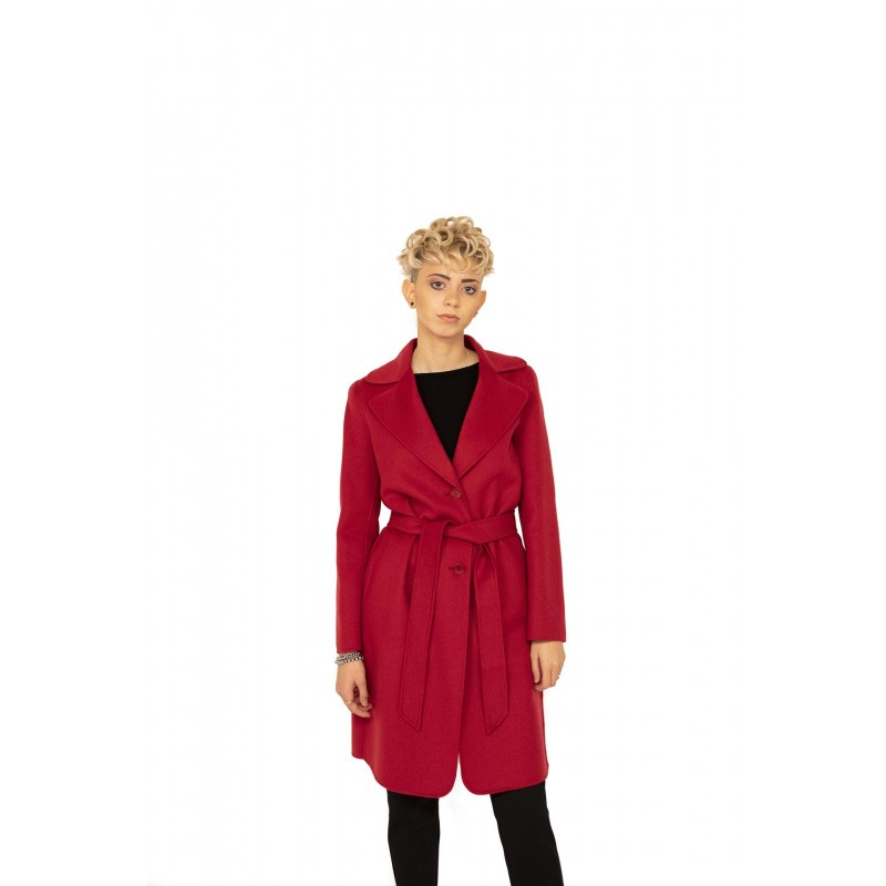 MAX MARA STUDIO - Cashmere and Camel Hair MASTER Coat - Red