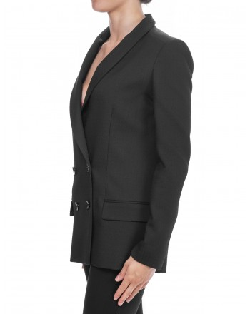 PINKO - Doublebreasted Jacket ARMATURATO 1° - Black