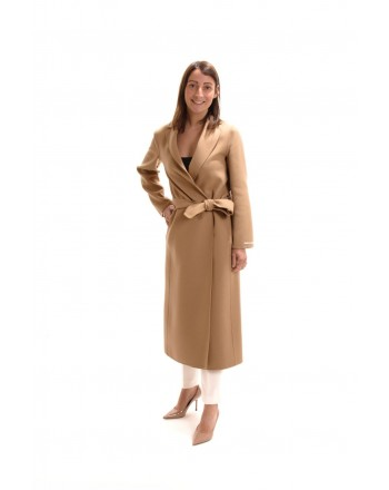 S MAX MARA - Cappotto in Lana PAOLA - New Golden Camel