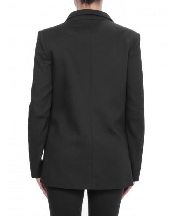 PINKO - Doublebreasted Jacket ARMATURATO 1° - Black