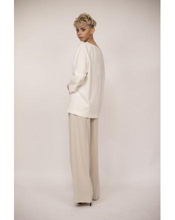 MAX MARA - ELDGAR Silk Shirt - White