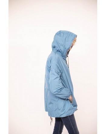 MAX MARA  THE CUBE -  Esporty Duvet with Hoods  - Intense Light Blue