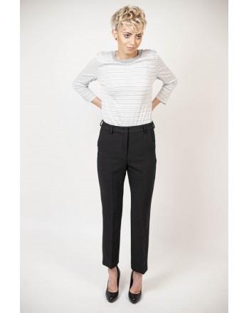 MAX MARA WEEKEND - AMATI trousers in Viscose - Black